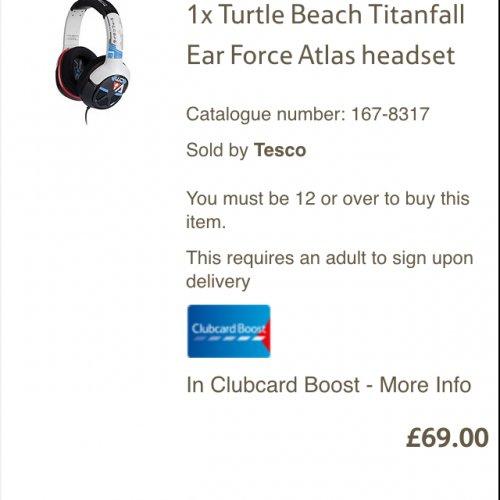 Titanfall Xbox One Atlas Headset £69.99 @ Tesco Direct