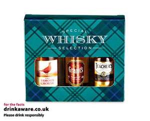 Special mini whisky selection £5.99 @ Aldi