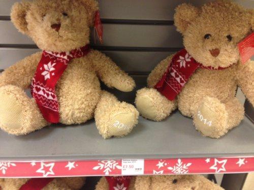 Waitrose large bear now £7.50