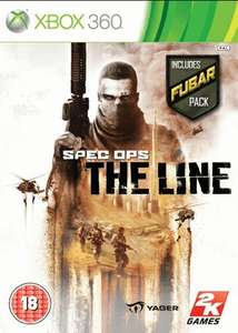 Spec Ops : The Line with Fubar Pack xbox 360 £3.00 Used @ Game