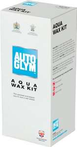 autoglym aqua wax kit £10.15 @ Amazon