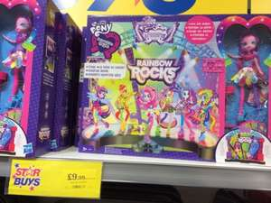 My Little Pony Equestria Girls Rainbow Rocks Stage Playset with Pinkie Pie Doll £9.99 @ Home Bargains (Newark)