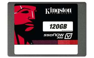 Kingston Technology 120GB £35.01 with code @ Amazon with add on item + using Mastercard £5 off code