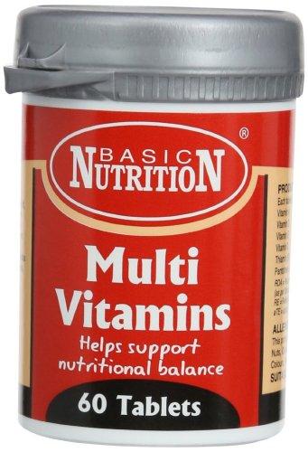 Basic Nutrition Multi Vitamins £1.88 @ Amazon   (add on item / £10 spend)