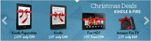 Save up to £20 on Amazon HD7, Kindles and TV @ Amazon