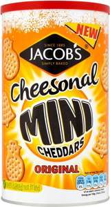 McVitie's Cheesonal Mini Cheddars Original (260g) was £3.49 now £1.50 @ Morrisons