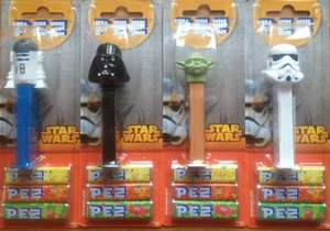 Star Wars Pez Dispensers @ Poundland £1