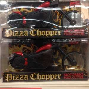 Sons of Anchovy? Pizza Chopper motorbike pizza cutter £3.00 instore Sainsburys (was £10)
