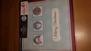 Asda luxury Christmas cards was £3 now 50p box of 5
