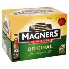x20 Bottles 300ml Magners Original £10.00 @ Tesco Groceries