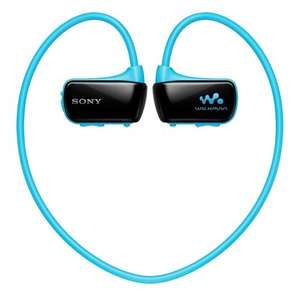 Sony NWZ-W273S 4GB Waterproof All-in-One Sports / Swimming MP3 Player Blue or Pink NOW £29 at Amazon
