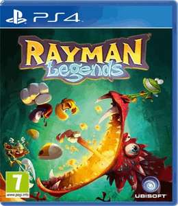 Rayman legends (preowned) ps4 £9.99 GAME back intstock