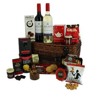Christmas Hampers up to 40% off, free del over £50 plus 10% off first order @ first4hampers.com
