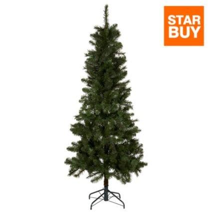 6.6ft Pre-Lit Chamonix Quick Set Christmas Tree £37 (was £57) from B&Q