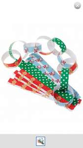 ELC & Mothercare Christmas paper chains 50p