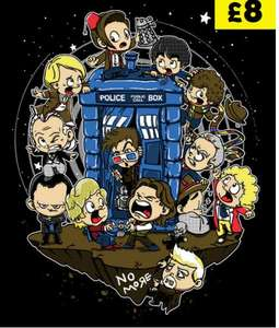 Let's Play Doctor (Doctor Who) T-Shirt £10.50 @ Qwertee