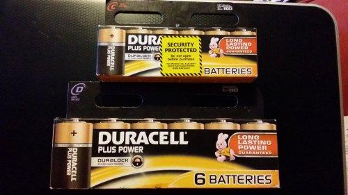 Duracell Power Plus Batteries - £2.50 instore @ Tesco