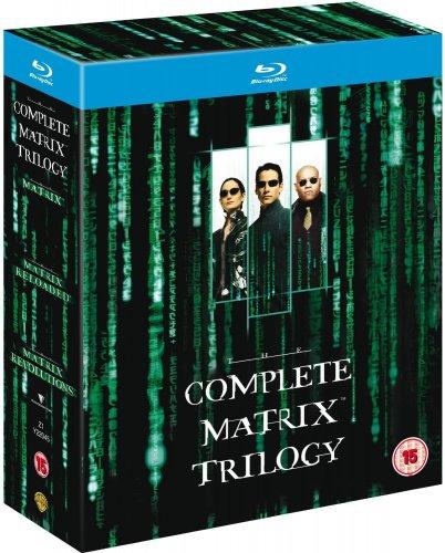 Blu Ray Matrix Trilogy £9   Amazon UK