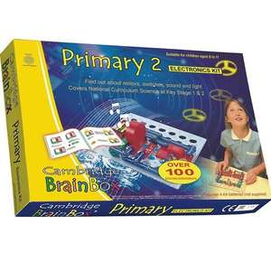 Cambridge Brainbox Primary 2 Electronics Kit - Free delivery- fulfilled by Amazon