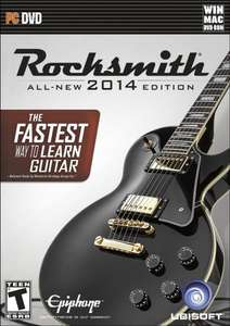 Rocksmith 2014 for PC - get twice the number of songs plus the cable using Amazon AND Steam sale £45.47
