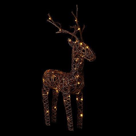 John Lewis Pre-Lit Reindeer 50% off now £22.50