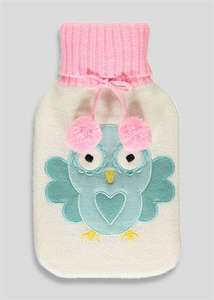 Owl Knitted Hot Water Bottle  Now £3.00 Was £8.00 @ Matalan