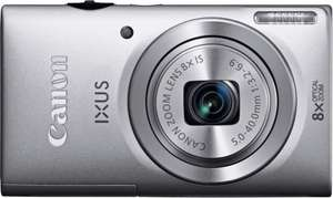 Canon Ixus 140 16MP 8X Zoom Compact Digital Camera - Silver. Brand New With a 12 Month Argos Warranty  at ARGOS EBAY OUTLET
