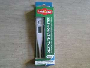 Digital Thermometer (Includes fever alarm, auto shut-off funand LCD display) 99p @ 99p Store