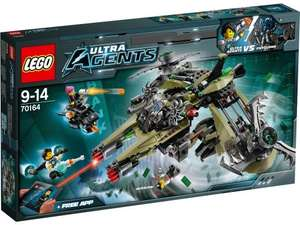 LEGO Agents 70164: Hurricane Heist £32.78 at Amazon