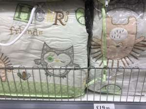 Olive & Henri Cot Set @ HOME BARGAINS RRP £79.99