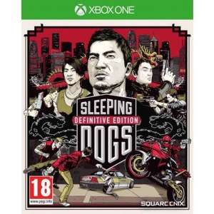 (Xbox One) Sleeping Dogs - Definitive Edition - Limited Edition With Artbook - £17.95 - TheGameCollection