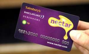 Sainsbury's Nectar Bonus Credit Card 8 Nectar Points per £1 for the first 3 Months