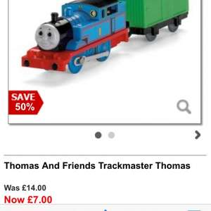Thomas Trackmaster £7 (half price) @ debenhams