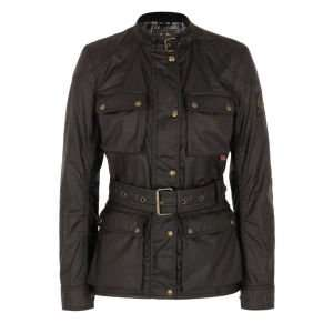 Belstaff Women's Roadmaster Jacket - Black size 10 only £185.99 @ zavvi