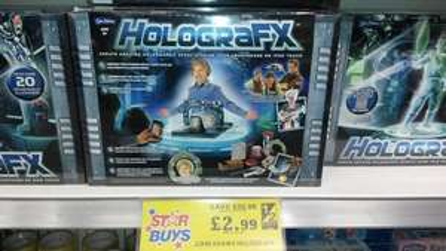 John Adams Holografix - £2.99 @ Home Bargains