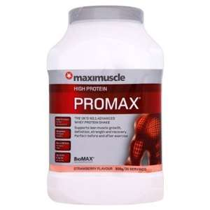 Maximuscle promax 908g strawberry £11.98 @ Costco instore