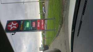Unleaded 108.9 & Diesel 115.9 per litre at Texaco Grindley Brook, A41 near whitchurch