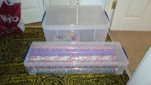 Really Useful Boxes 48L and Wrapping Paper (22L) £10 @ Hobbycraft