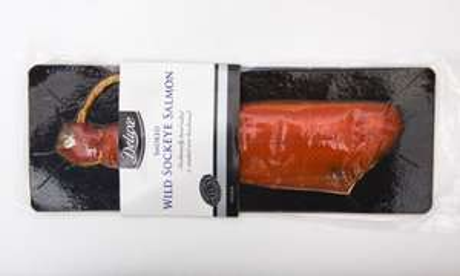 Deluxe frozen smoked salmon HALF PRICE £9.99 per kg @ Lidl