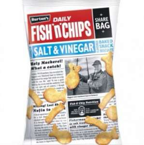 Burton's Fish 'n' Chips - 99p Home Bargains