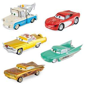 Disney Pixar Cars Die-Casts, Deluxe Low Rider Set - 5 cars - Was £25 Disney Store Now