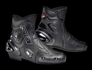 Sidi Apex Short Motorcycle Boots £129.99 @ Bike Gear