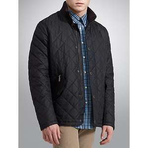 Mens Barbour Chelsea Ribbed Neck Quilted Jacket was £139 now £70 from Barbour