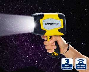 Workzone Rechargeable Halogen Spotlight £12.99 @ Aldi from Sunday 21st Dec,