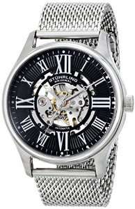 Stuhrling Original Atrium Elite Men's Automatic Watch with Black Dial Analogue Display and Silver Stainless Steel. £55.80 @ Amazon