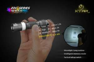 CREE LED TORCH 1AA, 150 lumen(turbo), XTAR WK50 £11.90 @ Torch Direct