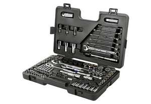 Halfords 120 piece socket set £159.99 down to £59.99. Deal of the day