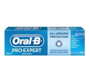 Oral B Pro Expert Toothpaste (Budgens) - £1.96