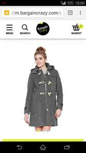 superdry Classic Duffle coat £48.99 delivered with code @ bargaincrazy