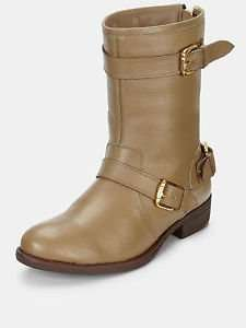 Definitions Mays Buckle Zip Leather Biker Ankle Boots - £13.99 (Free P&P) @ Very eBay Store